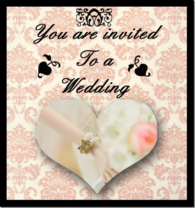 You are invited to a wedding2