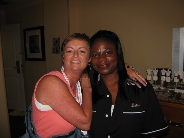 Debra and Rebecca