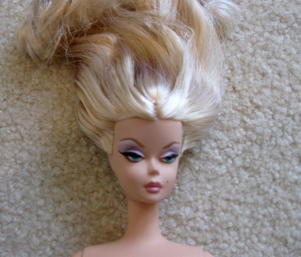restyling Barbie hair   Inside the Fashion Doll Studio