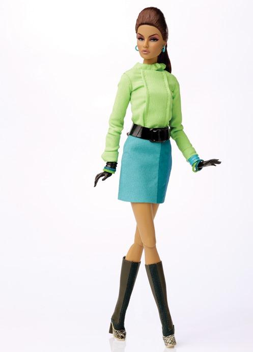 """12/"""" FR~Dynamite Girl~On the Spot Fashion~Jet Set Convention~Fit Poppy Parker~New"""