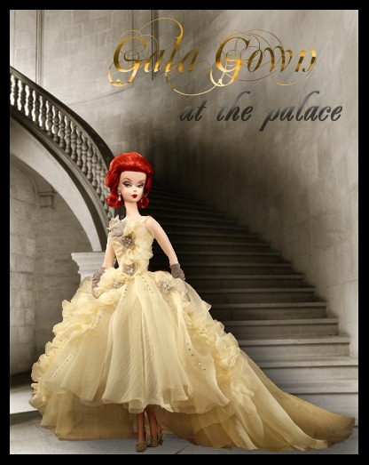 Gala gown at the palace