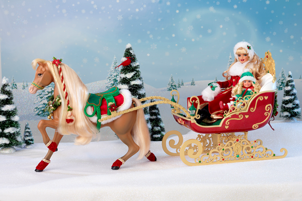 Dashing Through the Snow Sisters Sleigh Set 1