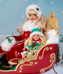 Dashing Through the Snow Sisters Sleigh Set 2