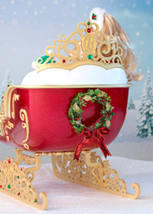 Dashing Through the Snow Sisters Sleigh Set 3