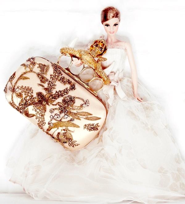 Interview Magazine and Barbie Alexander McQueen