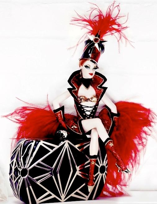 Interview Magazine and Barbie Bulgari