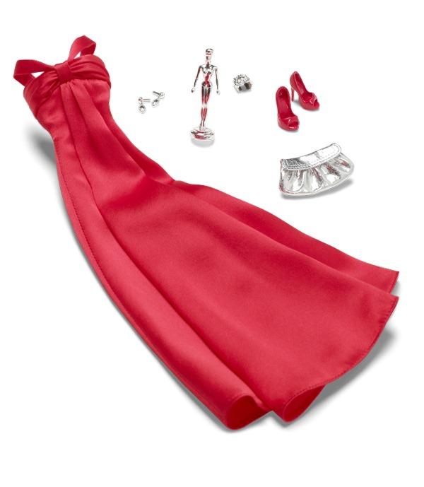 Red carpet on white bckgrd