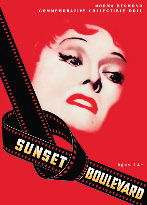 Sunset blvd movie poster