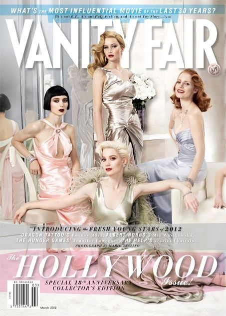 Vanity Fair Hollywood Issue 2012