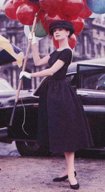 Audrey Hepburn in funny face balloons 1
