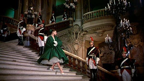 Audrey Hepburn in funny face opera 1