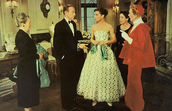 Audrey Hepburn in funny face whiteblack 2