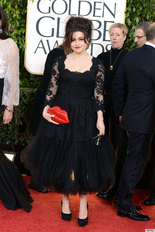 Helena Bonham Carter in D&G