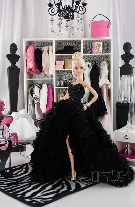 Pinch of platinum barbie inside the fashion doll studio