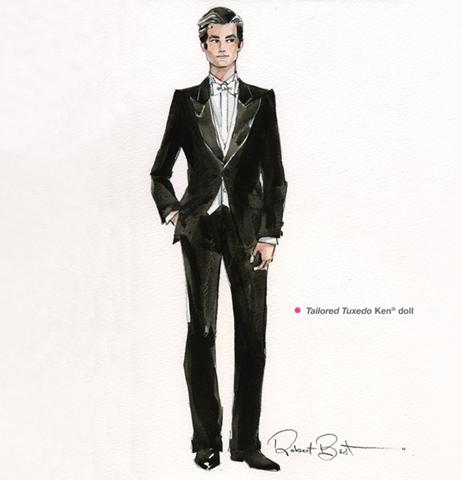 Tailored Tuxedo Ken