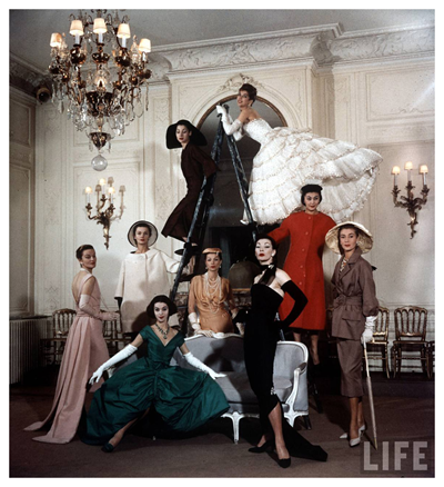 The models of Christian Dior 2