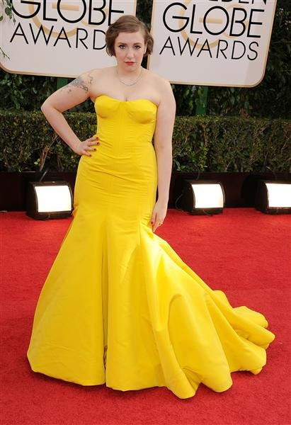 Lena Denham in Zac Posen MSN