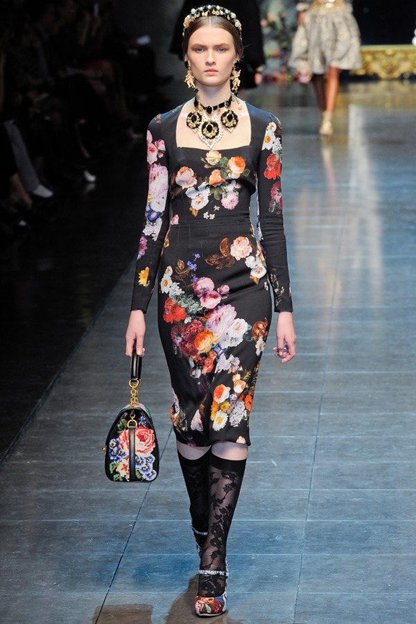 Dolce and Gabbana 2012 Fall RTW 2