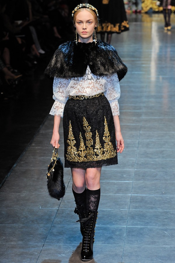 Dolce and Gabbana 2012 Fall RTW