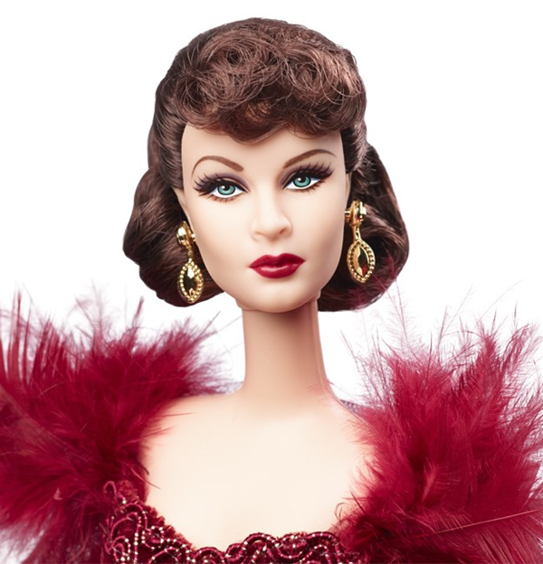 Gone with the wind Scarlet in scarlet dress doll 2
