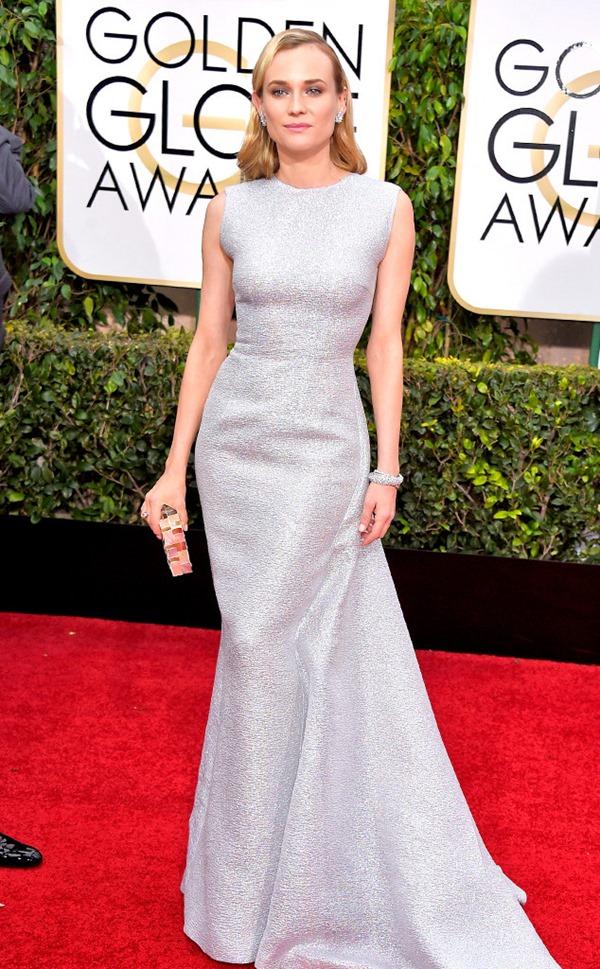 Diane Kruger in Emilia Wickstead eonline