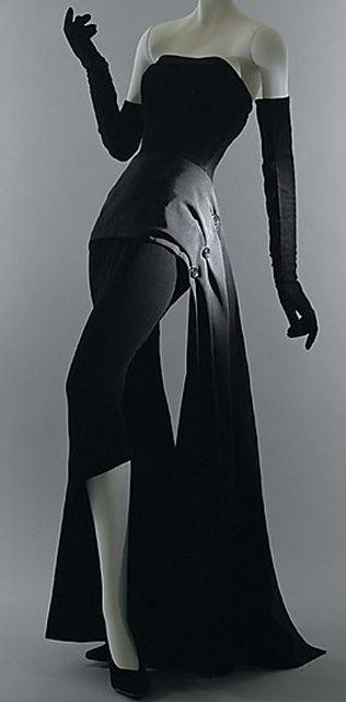 Dior Dinner Dress 1949 source TheMet