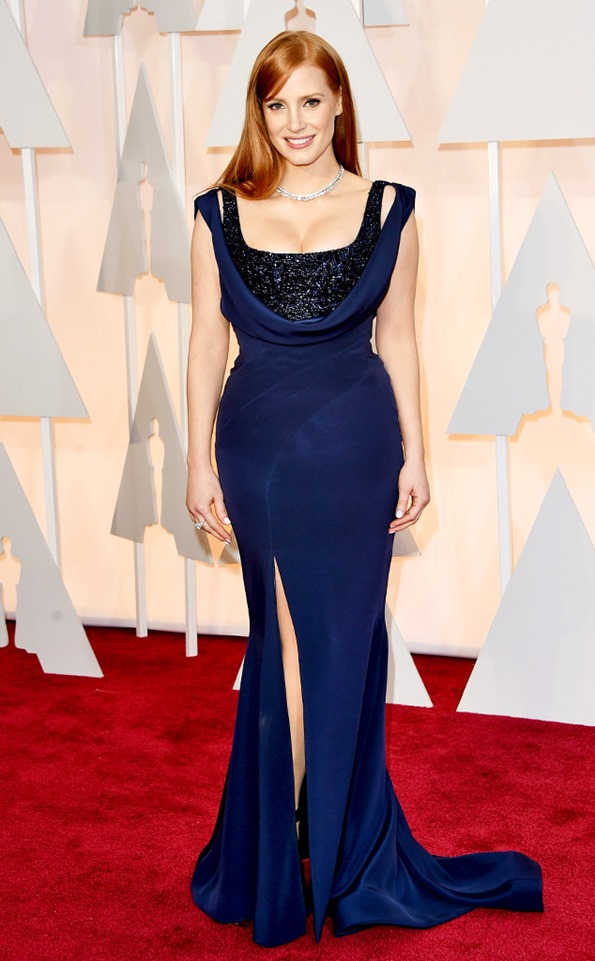 Jessica Chastain in Givenchy 3