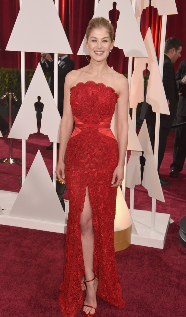 Rosamind Pike in Givenchy couture custom 2