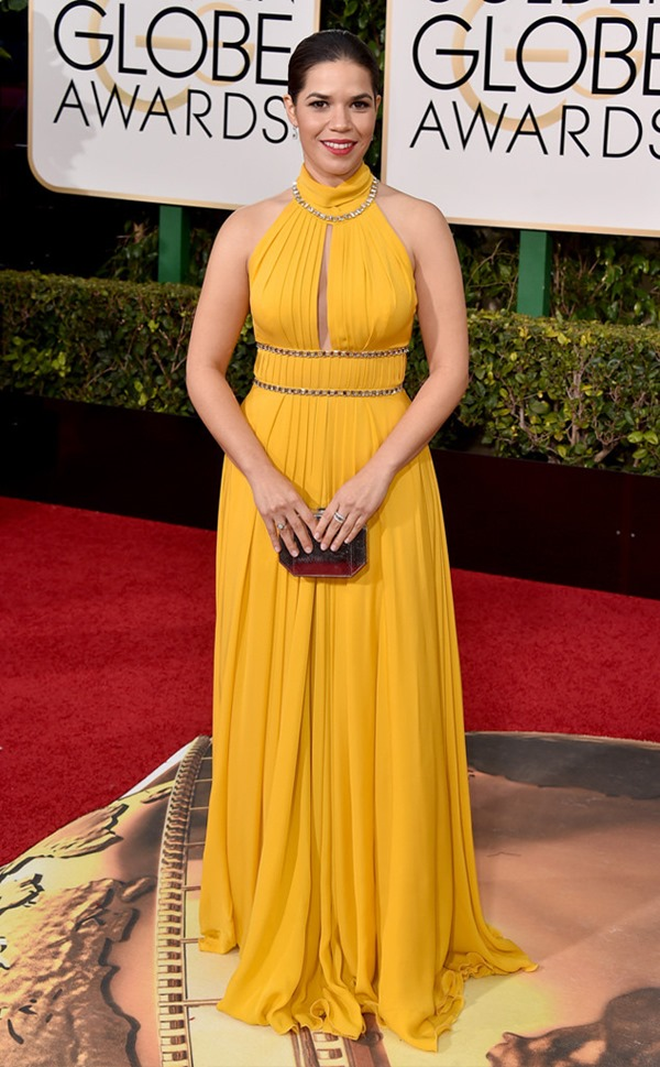 america-ferrera in Jenny Packham from Eonline
