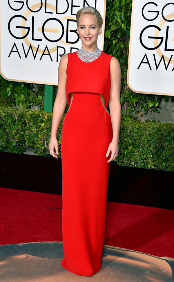 jennifer-lawrence in Dior From Eonline