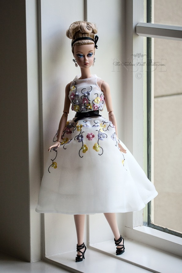 ©2016 Inside The Fashion doll Studio Classic Cocktail Dress Arrives