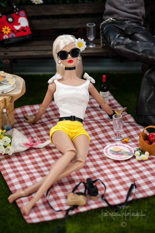 ©2016 Inside The Fashion Doll Studio - A Picnic in Paris