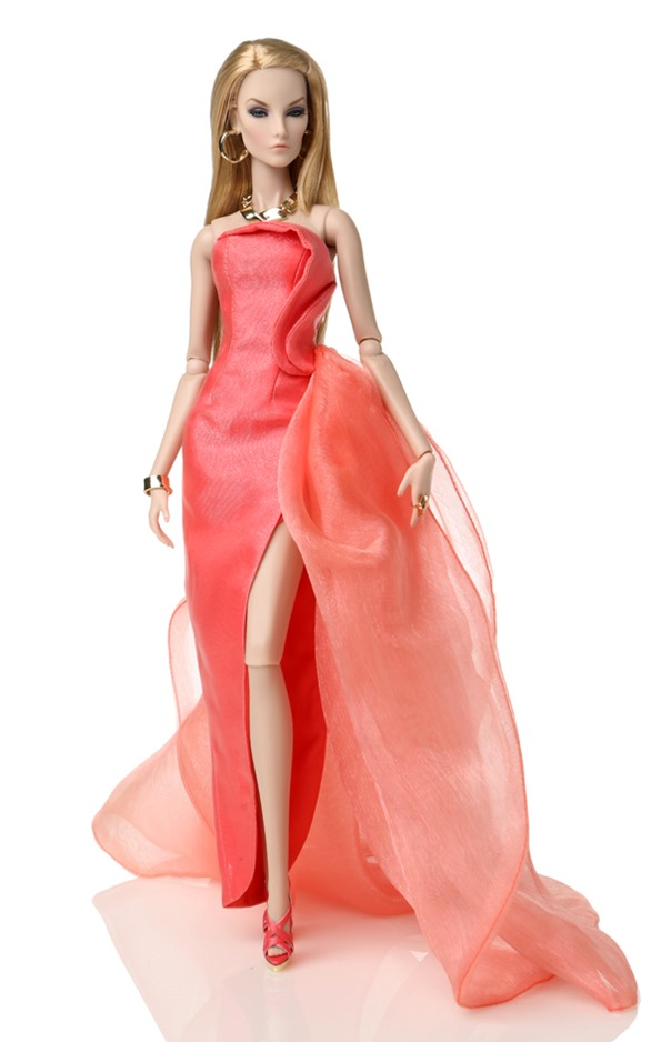 "12/"" FR2~Elyse//Elise Jolie Key Pieces Patent Leather Bag Only~LE 800~No Doll"