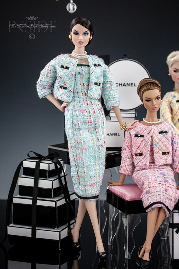 ©2016 Inside The Fashion Doll Studio - Oh So Chanel!