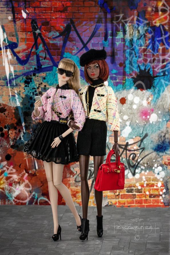 ©2016 Inside The Fashion Doll Studio-Straight from Paris Fashion Week
