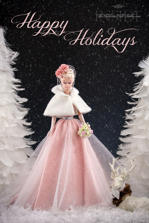 ©2016 Inside The Fashion Doll Studio Happy Holidays from ITFDS