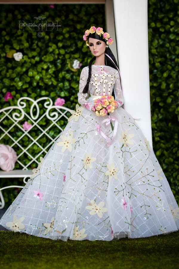 ©2017 Inside The Fashion Doll Studio A Spring Bride