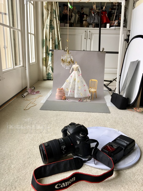 ©2017 Inside The Fashion Doll Studio - A Bridal Still Life