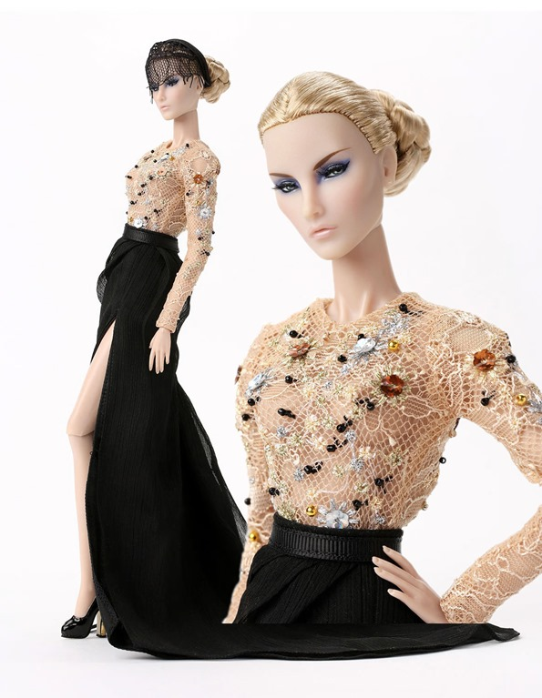 ©2017 Bergdorf Goodman Jason Wu Doll Jason Wu 10th Anniversary Collection Doll with Long Skirt