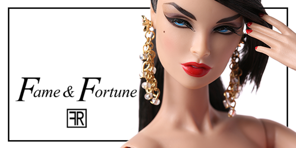 Fashion Royalty Vanessa Perrin Fame /& Fortune New Hewd Integrity Doll