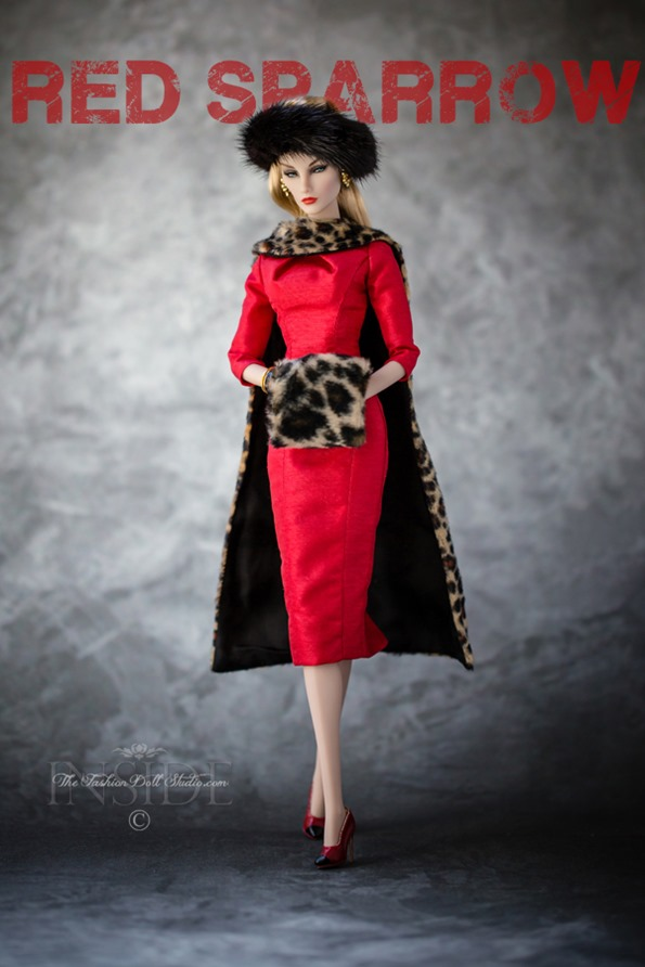 ©2018 Inside The Fashion Doll Studio -The Elyse Chronicles:Red Sparrow