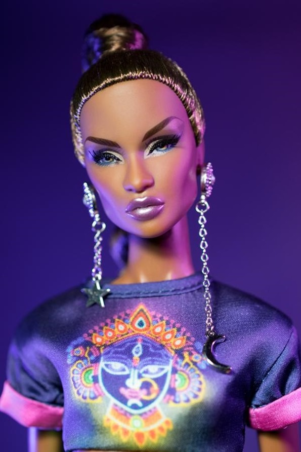 ©2018 Integrity Toys Inc., Nu.Face Counter-Culture Collection-Nirvana Dominique Makeda