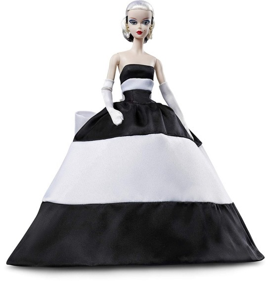 ©2019 Mattel Inc. Black and White Forever Barbie