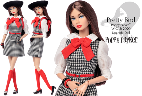 ©2020 Integrity Toys - Pretty Bird Poppy Parker