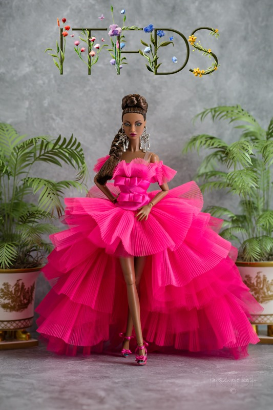 ©2021 Inside The Fashion Doll Studio -Poppy Meets the Barbie Pink Collection