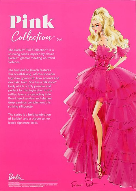 ©2021 Mattel Pink Collection