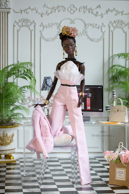 ©2021 Inside The Fashion Doll Studio-In the Pink Nadja