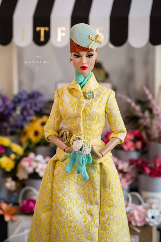 ©2021 Inside The Fashion Doll Studio-Poppy at the Flower Market