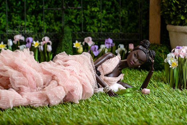 ©2021 Inside The Fashion Doll Studio-Nadja in the Garden